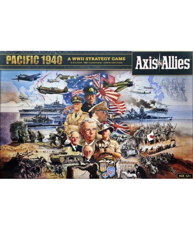 Wojenne - Axis & Allies Pacific 1940 Edycja Delux