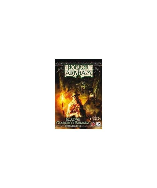 Horror w Arkham - Horror w Arkham: Klątwa Czarnego Faraona