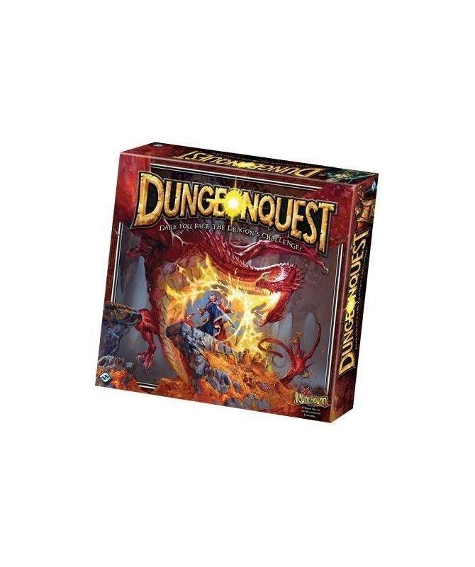 Przygodowe - DungeonQuest: Smocze Lochy