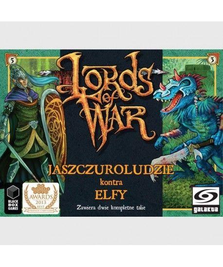 Gry Karciane - Lords of War: Władcy Wojny – Jaszczuroludzie kontra Elfy
