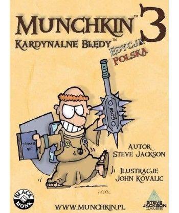 Pozostałe i różne - Munchkin 3: Kardynalne Błędy