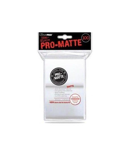 Ultra-Pro - Deck Protector - Pro-Matte Non-Glare White (Białe) 100