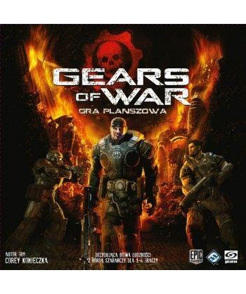 Strategiczne - Gears of War: Gra planszowa