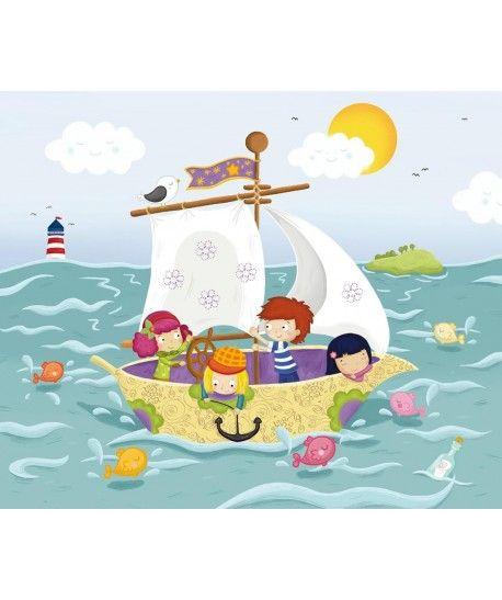 Dla dzieci - Statek - puzzle ekologiczne