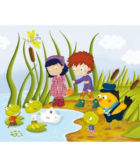 Dla dzieci - Żabki - puzzle ekologiczne