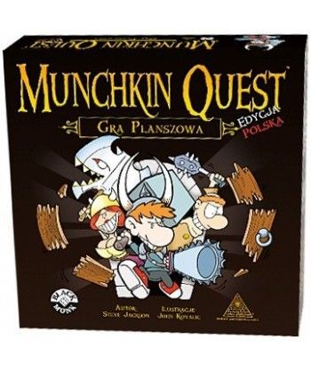 Przygodowe - Munchkin Quest: Gra Planszowa