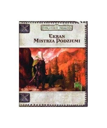 Forgotten Realms - Dungeons & Dragons -Ekran Mistrza Podziemi do Forgotten Realms