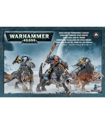 Space Wolves Thunderwolf Cavalry Space Marines - 1