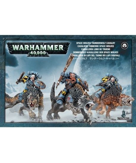 Space Marines - Space Wolves Thunderwolf Cavalry
