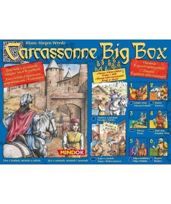 Rodzinne - Carcassonne Big Box 4