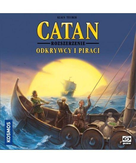 Catan - Catan Gra Planszowa: Odkrywcy i Piraci