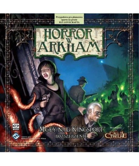 Horror w Arkham - Horror w Arkham: Mgły nad Kingsport