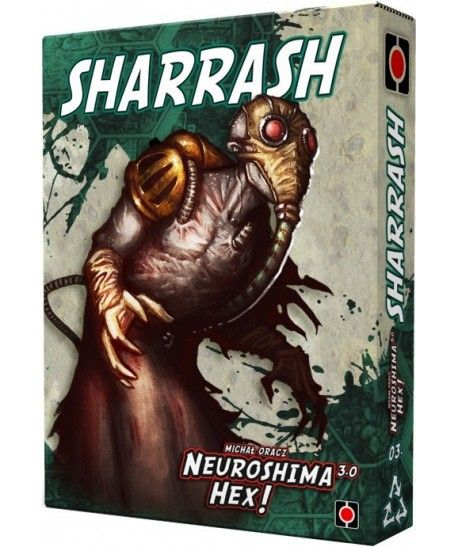 Neuroshima - Neuroshima HEX: Sharrash (edycja 3.0)