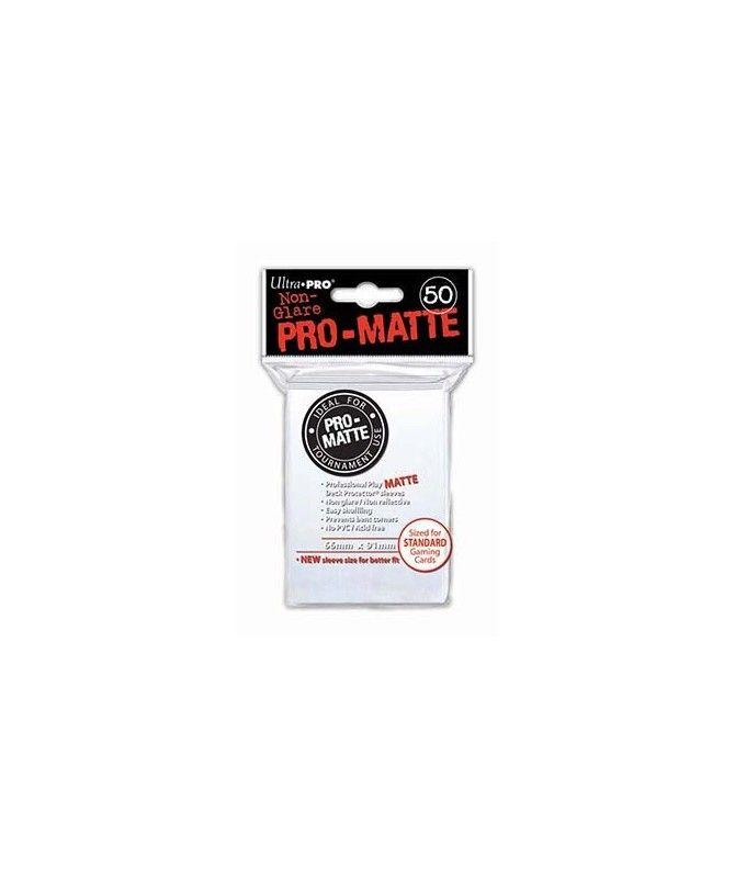 Ultra-Pro - Deck Protector: Pro-Matte Non-Glare Biały