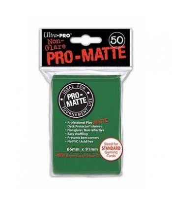 Ultra-Pro - Deck Protector: Pro-Matte Non-Glare Zielony