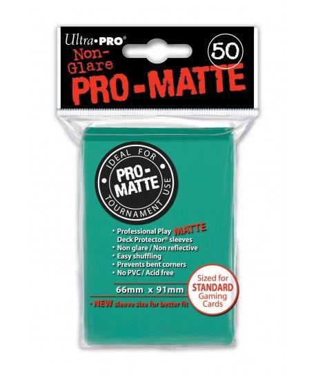 Ultra-Pro - Deck Protector: Pro-Matte Non-Glare Turkusowy