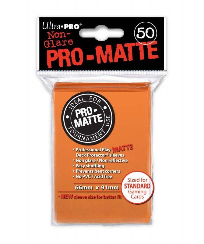 Ultra-Pro - Deck Protector: Pro-Matte Non-Glare Pomarańczowy