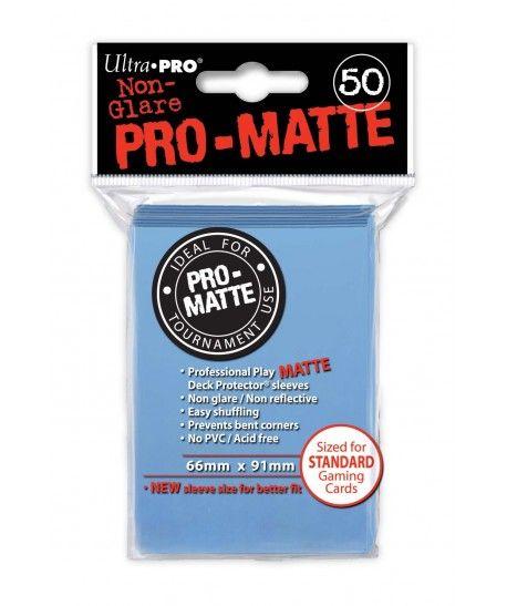 Ultra-Pro - Deck Protector: Pro-Matte Non-Glare Jasnoniebieski