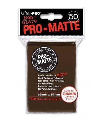 Ultra-Pro - Deck Protector: Pro-Matte Non-Glare Brązowy