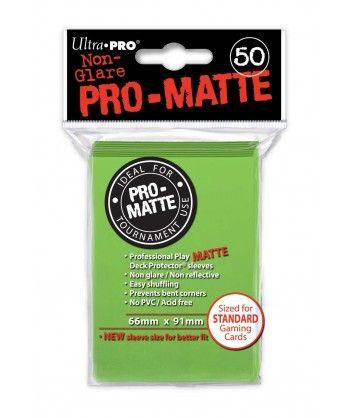 Ultra-Pro - Deck Protector: Pro-Matte Non-Glare Lime Green