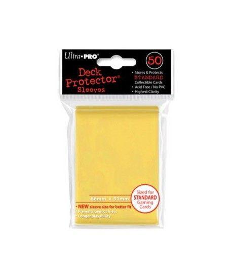 Ultra-Pro - Deck Protector: Matowy Żółty
