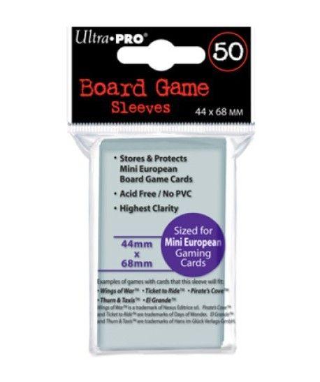 Ultra-Pro - Board Game Sleeves - Mini European
