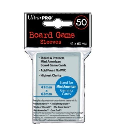 Ultra-Pro - Board Game Sleeves - Mini American