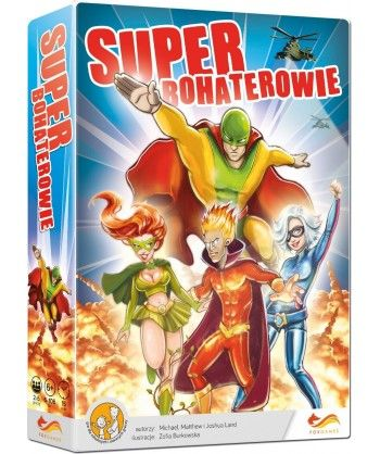 Imprezowe - Superbohaterowie