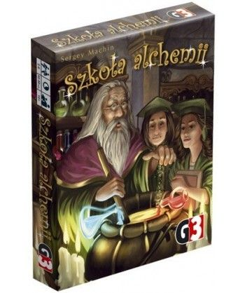 Gry Karciane - Szkoła alchemii