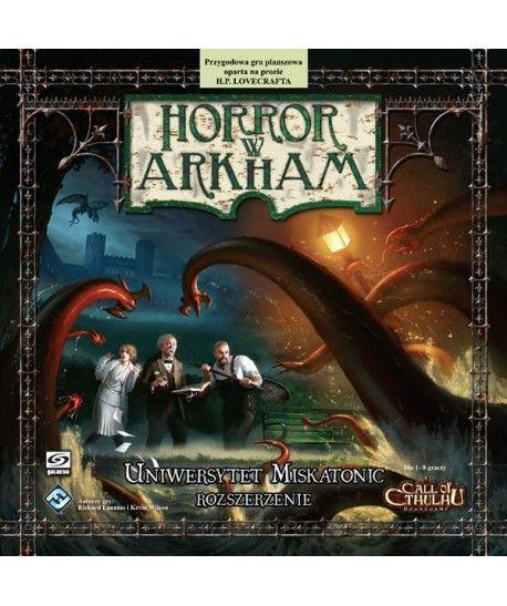 Horror w Arkham - Horror w Arkham: Uniwersytet Miskatonic