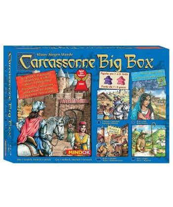 Strategiczne - Carcassonne Big Box 5
