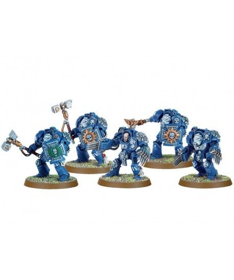 Space Marines - Space Marine Terminator Assault Squad