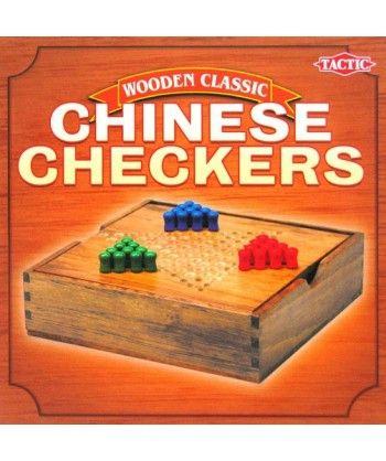 Logiczne - Chińskie warcaby (kolekcja drewniana)