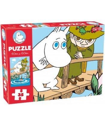 Muminki duże puzzle 35...