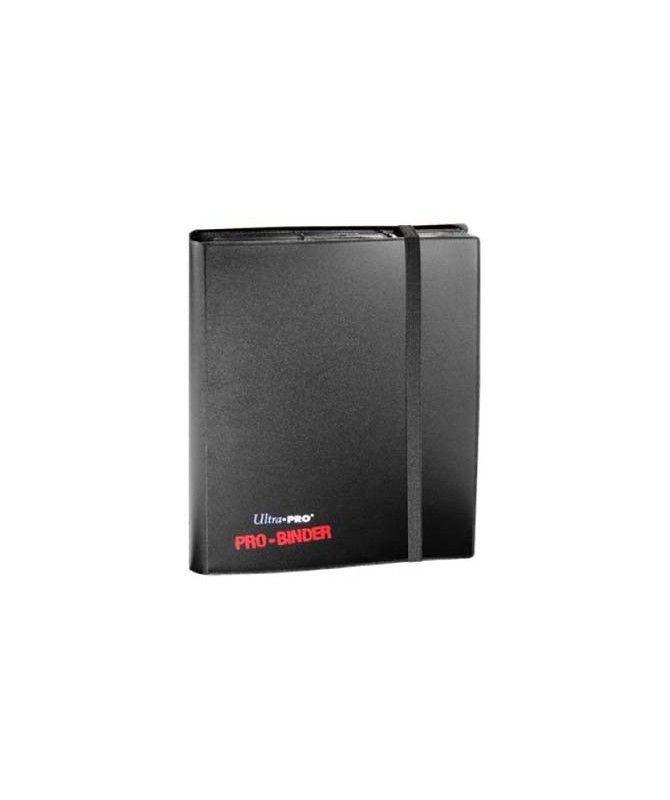 Albumy i klasery na karty - Album na karty 9PKT Pro-binder + 20 stron - czarny