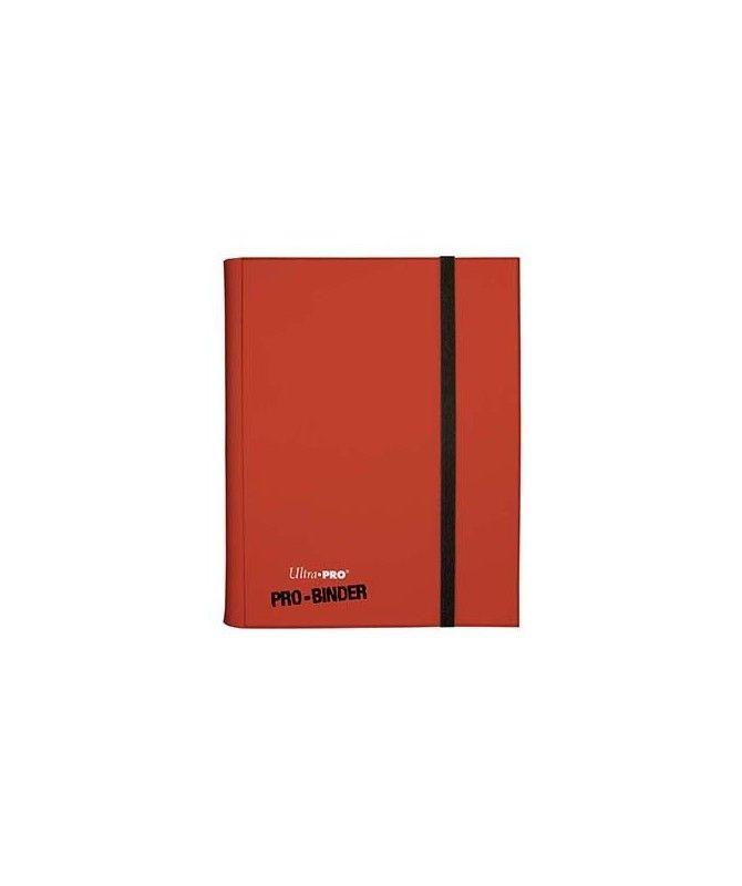 Albumy i klasery na karty - Album na karty 9PKT Pro-binder + 20 stron - czerwony