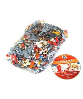 Dla dzieci - Puzzle Było sobie życie - Mięśnie i układ kostny + DVD