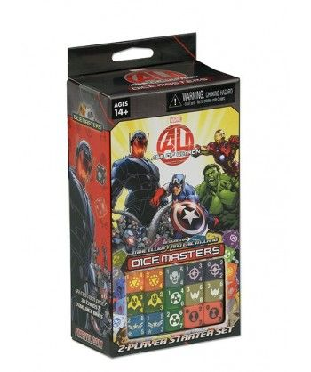 Gry kościane - Marvel Dice Masters: Age of Ultron Starter Set