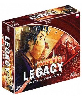 Pandemic Legacy - Edycja...
