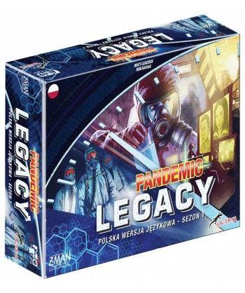 Strategiczne - Pandemic Legacy - Edycja niebieska