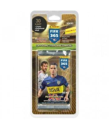Wyprzedaż - PANINI FIFA 365, blister z 30 kartami