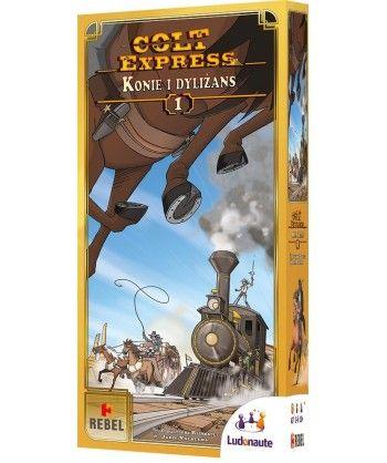 Pozostałe i różne - Colt Express: Konie i dyliżans