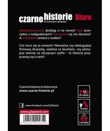Gry Karciane - Czarne historie - Biuro