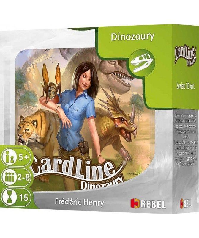 Gry Karciane - Cardline: Dinozaury