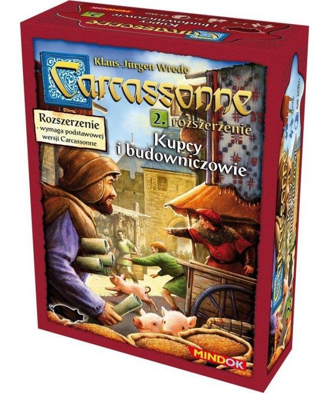 Carcassonne - Carcassonne: Kupcy i budowniczowie (druga edycja)