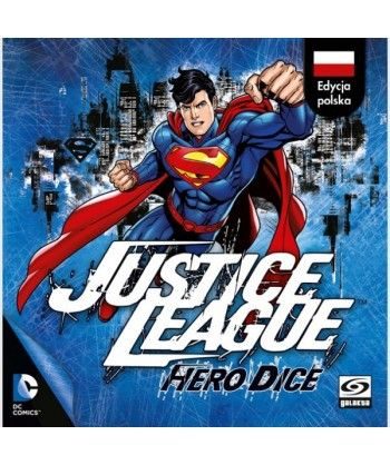 Gry kościane - Justice League: Hero Dice Superman