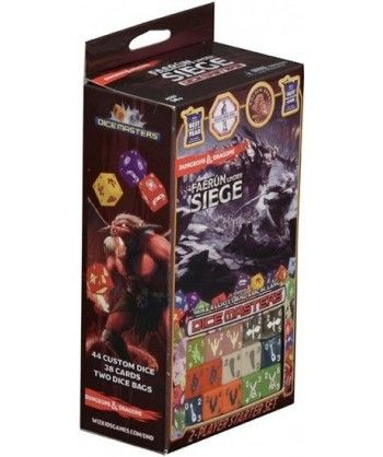 Gry kościane - Dice Masters: Faerun Under Siege 2-player Starter Set