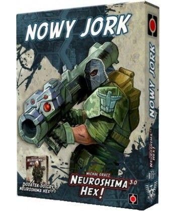 Neuroshima - Neuroshima HEX: Nowy Jork (edycja 3.0)