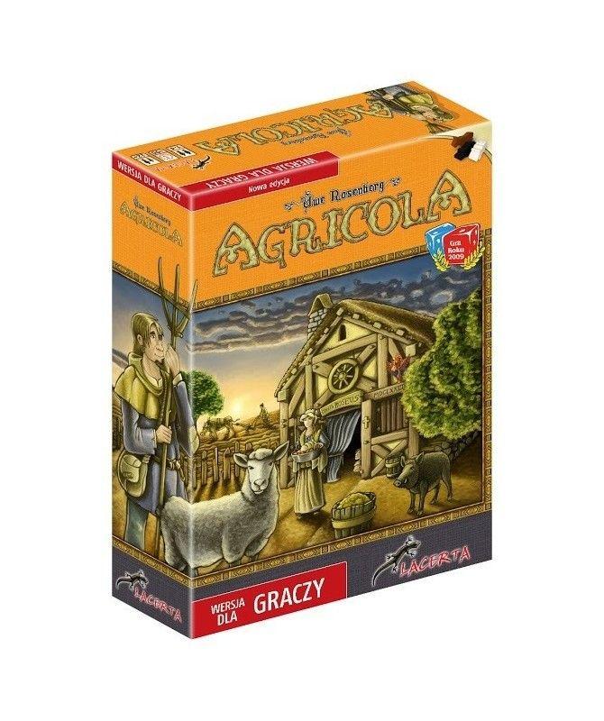 Ekonomiczne - Agricola (wersja dla graczy)