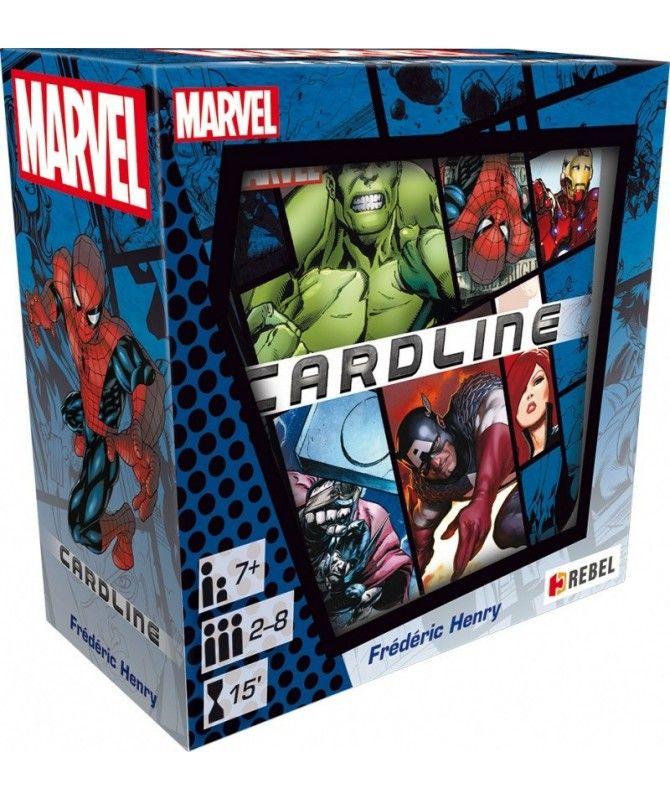 Gry Karciane - Cardline: Marvel